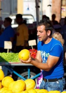 Catching a Melon